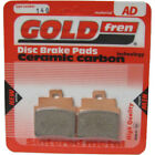 Front Disc Brake Pads for Kymco Grand Dink 250 2006 250cc  By GOLDfren