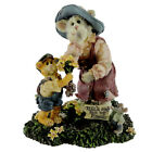 Boyds Bears Resin MOMMA MEOWSLER AND HANK Purrstone Cat Special Edition 82501