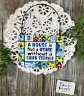 Cairn Terrier DOG Ornament Mini Sign DecoWords All Breeds Available Just Ask USA