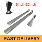 Professional Stainless Steel Silver Shiny Metal Shoe Horn Spoon Shoehorn 20 6