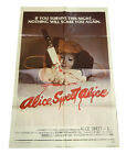 Alice Sweet Alice One Sheet Theatrical Movie Poster 27x41 Vintage Horror