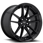 QTY4 18 Staggered Niche Wheels M223 DFS Gloss Black Rims FS