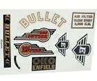 Royal Enfield Complete Body Rear Fairing Sticker Decal Set For Bullet 350cc ECs