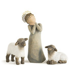 Shepherd little Animals Nativity Set Christmas Camel Sheep Calf Gift