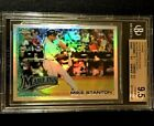 GIANCARLO MIKE STANTON 2010 TOPPS UPDATE CHROME REFRACTOR ROOKIE RC BGS 9.5