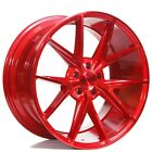 20 Niche M186 Misano Gloss Red Wheels and Tires