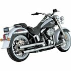Vance  Hines Straightshots HS Slip On Exhaust For Harley Softail 05 12