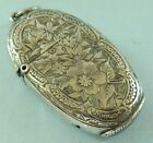 Allday Vesta Case Match Box Locket Chester 1874 11g Rare
