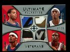 2008 09 UD Ultimate Foursomes Quad Tag Patch (07 20) Deng, Howard, Harris, Smith