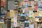 Lot Of 53 Packs Of Scrapbook Stickers K  Co Soft Spoken Jolees And More