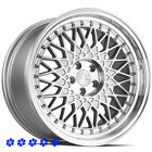 Aodhan AH05 Wheels Silver 18 x85 95 +30 Staggered 5x1143 Fit 96 Nissan 300zx