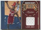 Lebron James 2010 11 Panini prestige home-court heroes game worn Jersey 31 50