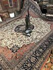 Auth:  1970's Vintage Hand Woven Quality  Elegant Chinese Persian HUGE 12x16  NR