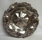 Silver Plate/Silverplate Bride's Basket, Floral/Berry Pattern