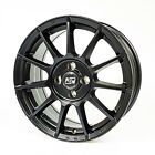 MSW Alloy Wheels Smart Fortwo 453 all Season Tyres Vredestein 16 Inch Black