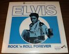 RARE ELVIS PRESLEY ROCK N ROLL FOREVER RECORD ALBUM 1981 RELEASE 33 1 3 RPM
