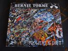 Slip Double: Bernie Torme : Flowers & Dirt : 2 CDs Ozzy Atomic Rooster SIGNED
