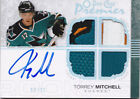 07-08 OPC Premier Torrey Mitchell /35 Auto Double Patch Jersey Rookie 2007