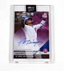 2018 Topps Now All Star Game Autographs Purple Javier Baez #AS-4C Auto 11 25
