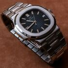 Men Automatic Watch Stainless High Quality sliver stainless Patek 5917