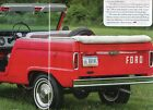 1966 FORD BRONCO ROADSTER 4WD SUV 10 pg COLOR Article