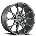 QTY4 19 Staggered Niche Wheels M182 Staccato Anthracite Rims CA