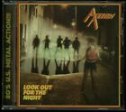 Axtion Look Out For The Night CD new 2018 reissue
