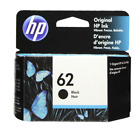 HP 62 Black Ink Cartridge 62 C2P04AN NEW GENUINE