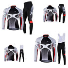 Mens Bike Cycling Jersey Jacket Riding Pro Team Bike Bicycle Clothing Set