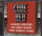 CODE RED Collection promo cd (coca cola logo Rose tattoo.The Angels , etc