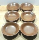 Vintage - Turned Walnut Bowls - SET of 6 - FAMe' Brand - 7