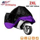 XXL Waterproof Motorcycle Cover For Harley Davidson Street Glide FLHX Touring
