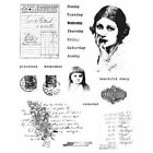 Prima Finnabair Cling Mounted Stamps Beautiful Story Days