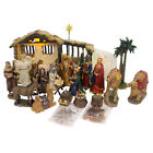Religious REAL LIFE NATIVITY Polyresin Three Kings Set 23 Mary Joseph Rln057