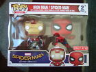 NEW! Funko Pop! MARVEL SPIDER-MAN & IRON MAN 2 PACK TARGET EXCLUSIVE 8