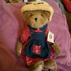 Boyds Bears Plush Bear Country Exclusive Miss Adele Retired HTF 16in