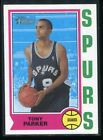 Tony Parker Cards, Rookie Cards and Autographed Memorabilia Guide 27