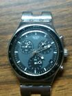 Vintage Swiss Swatch Irony Chronograph Watch Not Working Parts Or Repair
