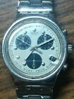 Vintage * Swatch * Swiss Irony Chronograph Quartz Watch w/ Original Band
