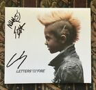Letters From the Fire Self Titled Cd Signed Autographed