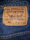 Mens Vintage Levis 517 Orange Tab Boot Cut Jeans 40 x 29 Made in USA 99 CENTS