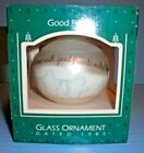 1992 Hallmark Christmas Ornament Kringle Tours Here Comes Santa with Box QX434-1