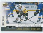 2017-18 Upper Deck Game Dated Moments Hockey Cards 23