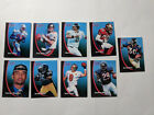 MIXED LOT OF 9 NFL STARTING LINEUP KENNER SLU FOOTBALL TRADING CARD CARDS  1998