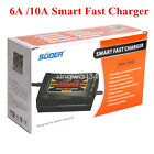 12v Smart Car Motorcycle Acid Battery Charger Lcd Display Fast Trickle Charger