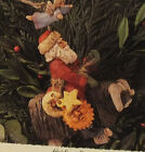 Hallmark Folk Art Guiding Santa 1995 Keepsake Ornament QK1037 MIB Christmas