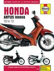 Honda Anf125 Innova Scooter (03 - 12): 2004-2012 by Matthew Coombs (English) Har