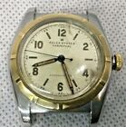 RARE Vintage 1949 ROLEX Watch SS Steel &18K Bubbleback  5011 Oyster Perpetual
