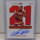 2012 Leaf Ultimate Numeration Autographs Dominique Wilkins ON CARD Auto #18 21