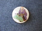 Hand painted figural Satsuma Porcelain Japanese Button 5